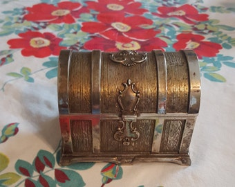 Beautiful Miniature Jewelry Chest