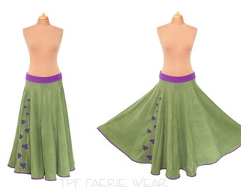 Ivy Fleece Maxi length Skirt