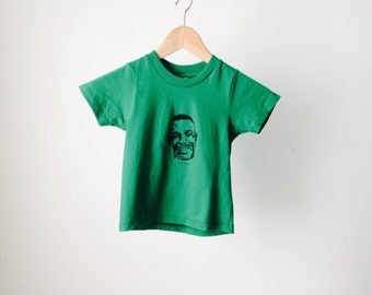 SHAWN KEMP seattle supersonics KELLY green basketball kid's toddler newborn new t-shirt