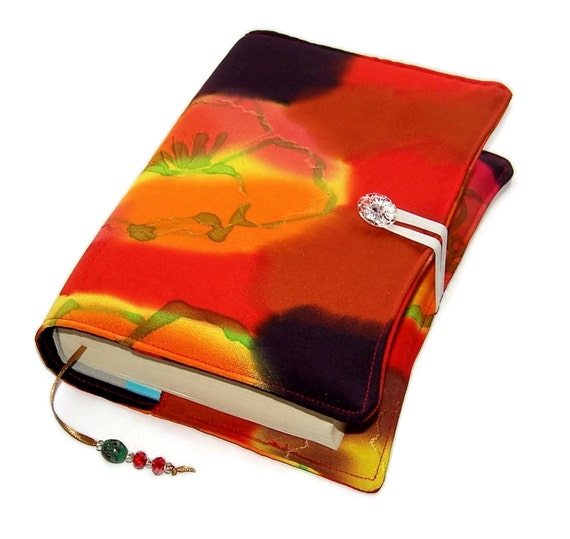 Handmade Book Cover Material ~ Items similar to handmade book cover fabric bible