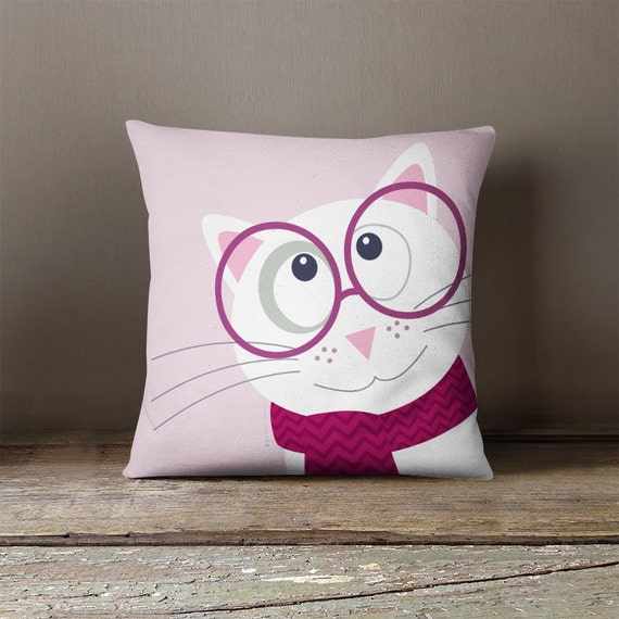 Throw Pillow For Nursery : Kids throw pillow nursery throw pillow cushion by Lespetitsbuttons