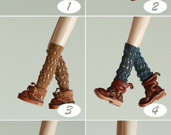Miss yo 2016 Summer & Autumn - Hollow Pattern Ankle Socks for Blythe doll - dress / outfit - 6 colors in
