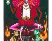 Tarot Art Print: The Devil