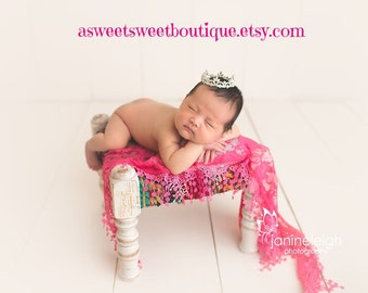 Baby Girl Crown Maternity Photo Prop Baby Girl Photo Prop Mini Crown Newborn Photo Prop Baby Tiara Baby Girl Headband Crown Cake Topper