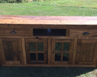 Reclaimed Chestnut Console