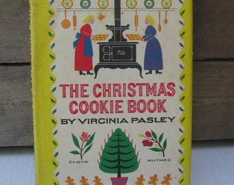 Vintage Christmas Cookie Cookbook, Virginia Pasley, 1949 Holiday Cookbook, Hardback