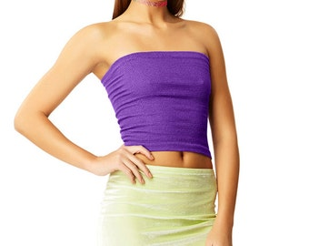 Purple Kush Tube Top X American Deadstock Basics