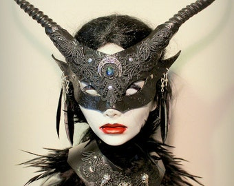 Goblin Witch mask & collar