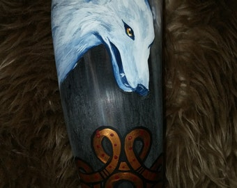 Drinking horn  From the Land of Ice and Snow