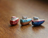 Fishing boat bead
