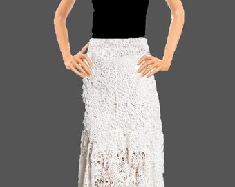 Maxi Stretch Lace Skirt Made To Measurement