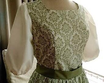 Sound of Music Von Trap Curtain Dress for Liesl
