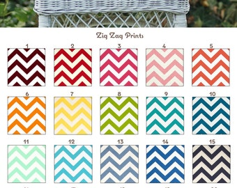 MADE TO ORDER Zig Zag Prints Round Helmet Bag Many Colors