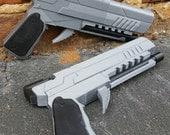 Arkham Knight 3D Printed Gun Costume Cosplay Fan Art