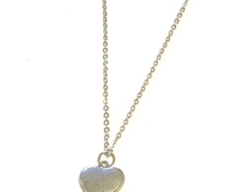 SALE Heart Charm Necklace