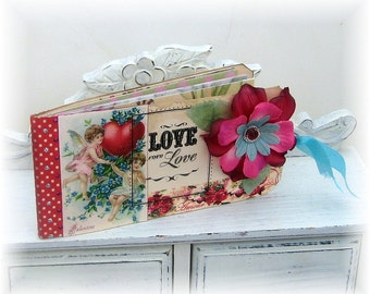 Valentine Coupon Book, Love Coupons, Valentine Gift