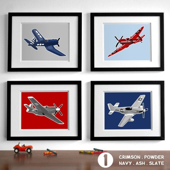 Airplane wall art roselawnlutheran for Airplane wall decoration