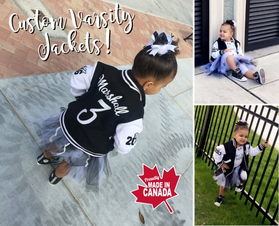 Kids Varsity Jacket Custom Varsity Jacket Personalized Kids
