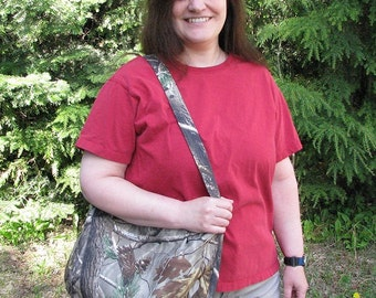 Hobo bag, Zipper slouch bag, hobo Purse, fabric hobo bag, boho bag, slouch purse, fabric purse, boho bag, hobo Camo bag, large purse