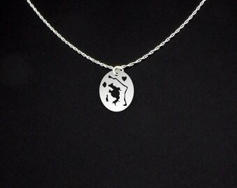 Bora Bora Islands Necklace - Bora Bora Jewelry - Bora Bora Gift - Bora Bora Necklace