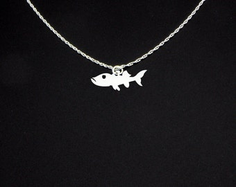 Barracuda Necklace - Barracuda Jewelry - Barracuda Gift