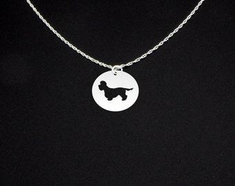 Dandie Dinmont Terrier Necklace - Dandie Dinmont Terrier Jewelry - Dandie Dinmont Terrier Gift
