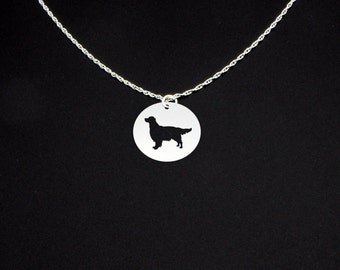 Golden Retriever Necklace - Golden Retriever Jewelry - Golden Retriever Gift