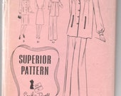 "1940's Smock, Pants and Skirt Pattern by Superior - Bust 30"" - No. 9617"