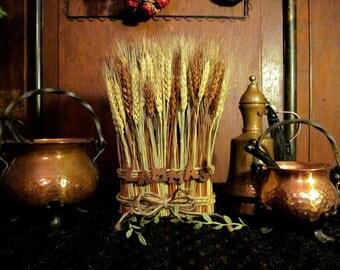 Lammas Wheat Altar Adornment ~ Sabbats, Altar, rituals, offerings, witchery, witch, Lughnasadh, Wheat, Centerpiece, Decor, Decorations