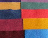 "20 - 12""X12"" Heathered Sheets Merino Wool Blend Felt"