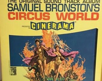 Original Samuel Bronston's Circus World Soundtrack Reel to Reel Tape