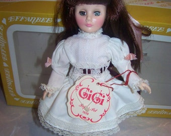 1838 Papas pet Gigi by Effanbee #6853 11 inch aprox