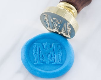 Wax Seal Stamp Set | Initial Font alphabet | European Font Set 2