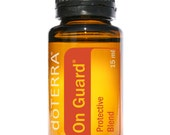 doTerra, On Guard, Protection Blend, Essential Oil, 15mL bottle, Essential Oils, Diffuser Oil, Therapeutic Oils, energizing