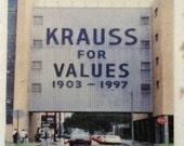 Krauss Department Store Canal Street New Orleans Coaster