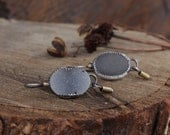 Forge Your Own Trail Quartz Druzy Earrings