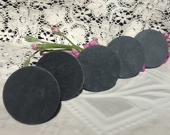 6 Slate Signs Mini Blank Slate Signs ClipOn Sign Table Top Sign Wedding Signs Table Number Signs Clip On Slate Chalkboard Sign