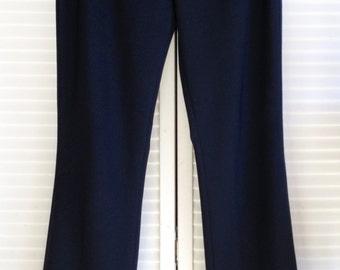 Claudie Pierlot Black Wool Straight Leg Trousers Minimalist Paris
