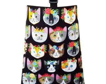 Car Trash Bag - Fancy Cats