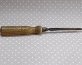 Vintage Wood Handle Woodworking Tool Project Manufacture Hand Made Made in England