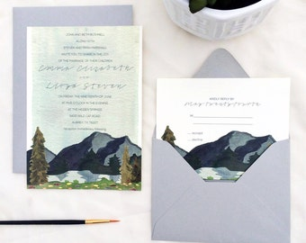 The Emma Invitation Set (deposit)