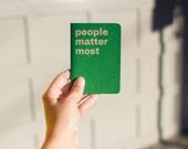 Sketchbook: People Matter Most
