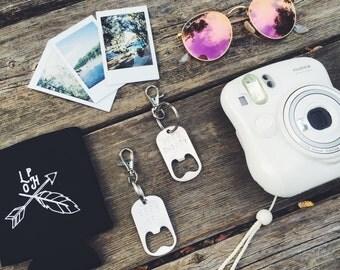 Summer Bundle - Bottle Opener Keychain & Can Cooler