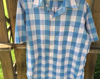 The Toggery Shop - Plaid Shirt - Size XL