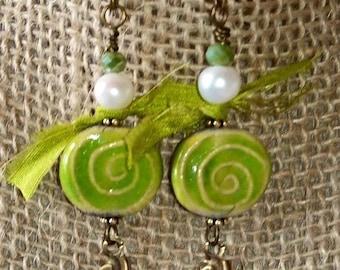 Spiral Dance Earrings