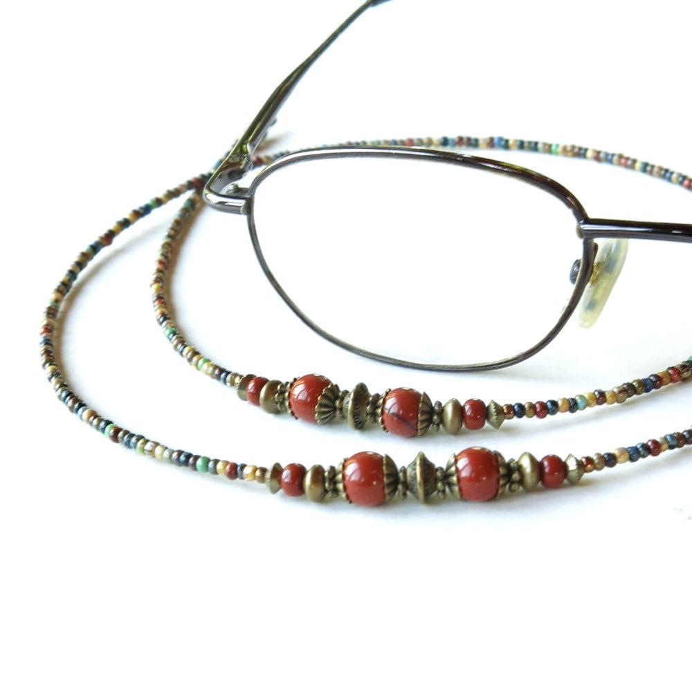 glasses chain beaded eyeglass lanyard sunglasses by