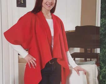 Simple Sleeved Shawl by Indygo Junction