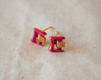 Stand Mixer Stud Earrings