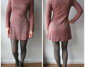 Vintage Micro Mini Dress - Alvin Duskin San Francisco - 70s Mini Dress