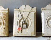 ON SALE Necklace Jewelry Display - Chippy - Shabby Chic - Architectural Salvage - Recycled - Limited Quantities - Ready to Ship